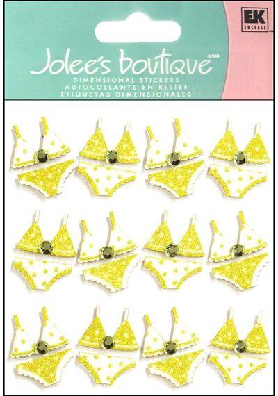 Bikini Repeats 3D Stickers