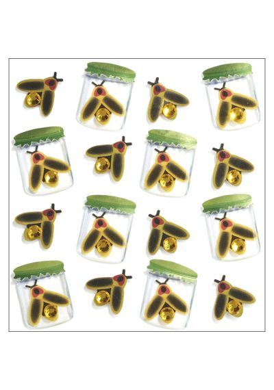 Lightning Bugs Stickers