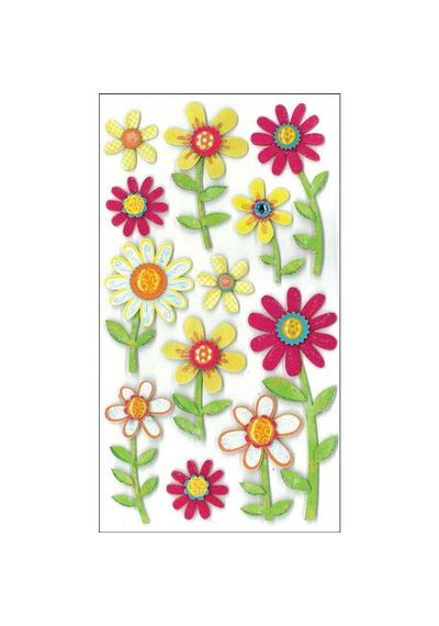 Large Daisy Stickers