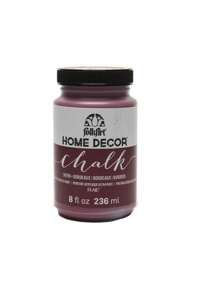 Bordeaux - FolkArt Home Decor Chalk Paint 8oz