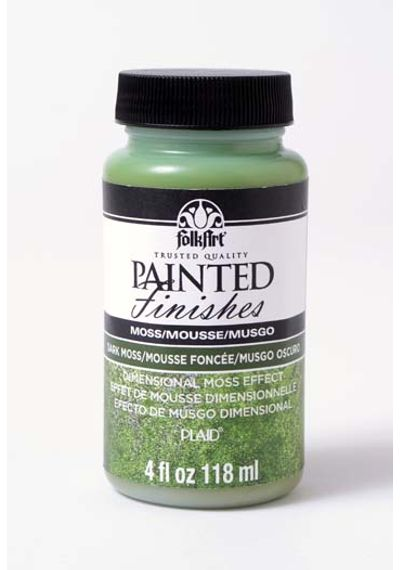 Dark Moss 4 oz - Folkart Painted Finishes