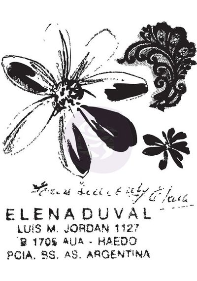 Meadow Lark #1 - Stamp