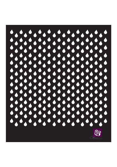 Raindrops - Stencils