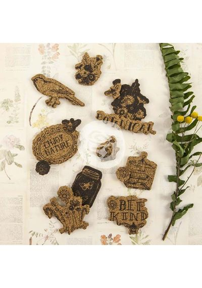 Forever Green Cork Stickers 14/Pkg