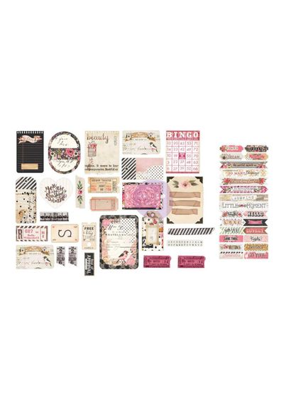 Rossibelle Ephemera Cardstock Die-Cuts