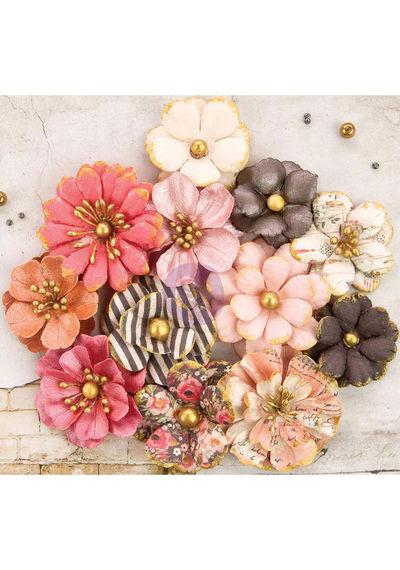 """Aubree Paper Flower 1.5"""" To 1.75"""""""