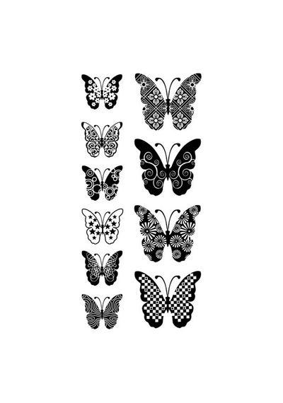 Patterned Butterflies