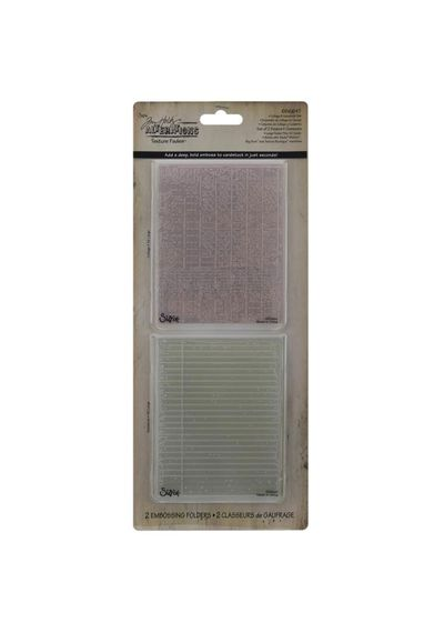 Collage & Notebook - Embossing Folder