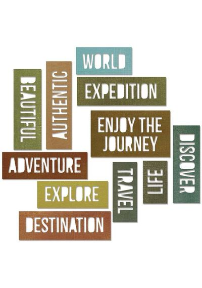 Adventure Words Block
