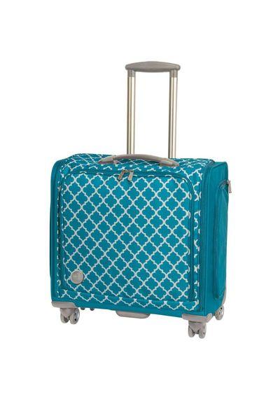 """360 Crafter's Rolling Bag - 18""""X20""""X12"""" Aqua"""