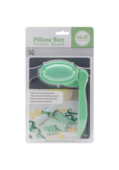 Pillow Box Punch Board