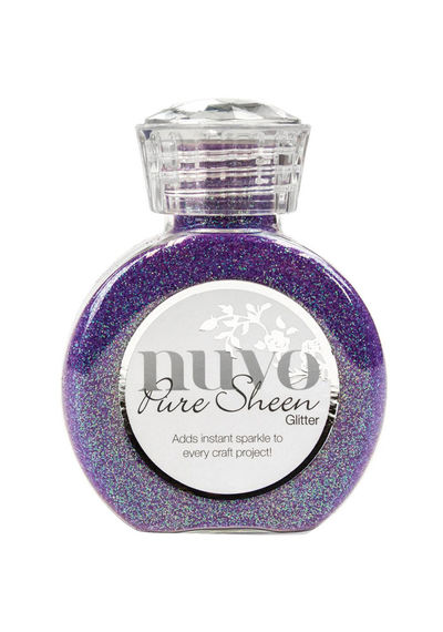 Violet Infusion-Nuvo Pure Sheen Glitter 3.38oz
