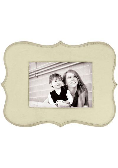 Decorative Wooden Frame - Cream