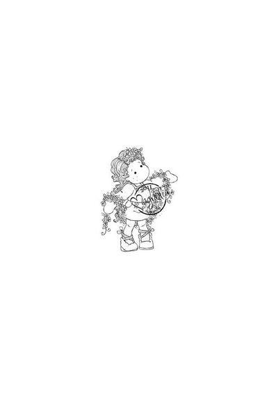 Tilda with Winding Flowers