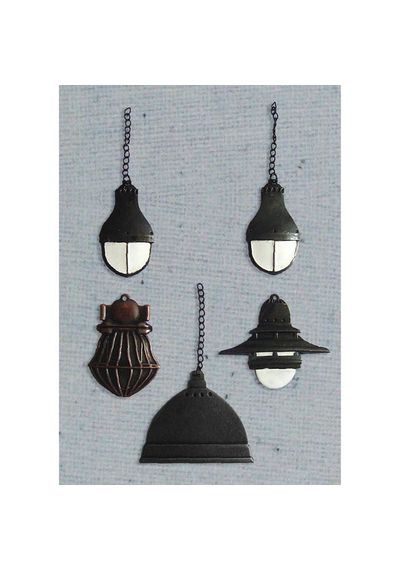 Industrial Lamps 5/Pkg