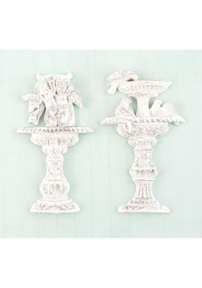 Garden Fountain 2/Pkg Shabby Chic Treasures