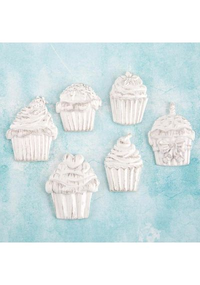 Cupcakes - Resin Embellishments