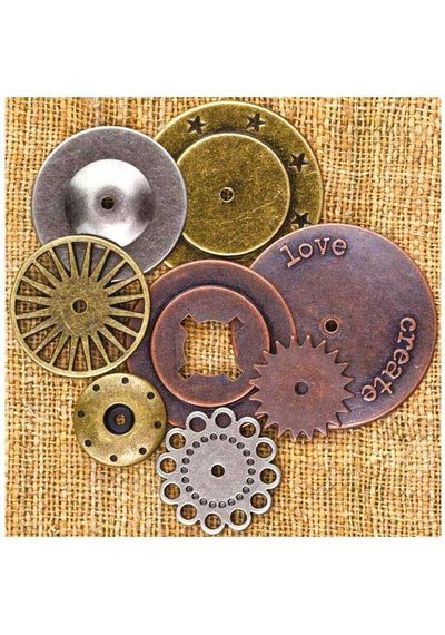 """Washers #1, 1"""" To 2"""", 8/Pkg"""