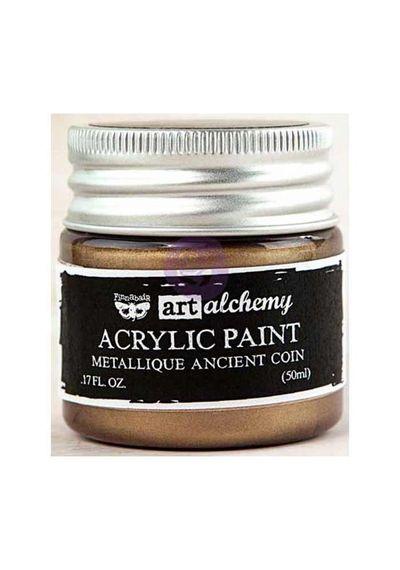 Metallique Ancient Coin - Acrylic Paint 1.7oz