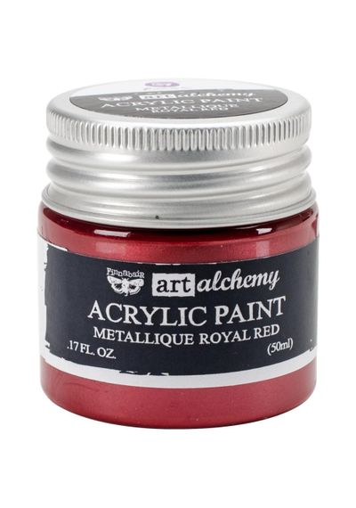 Metallique Royal Red - Acrylic Paint 1.7oz