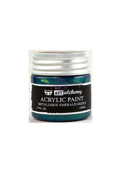 Metallique Emerald Green - Acrylic Paint 1.7oz