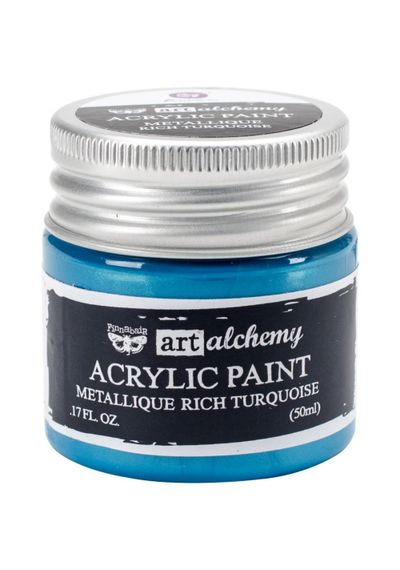 Metallique Rich Turquoise - Alchemy Acrylic Paint