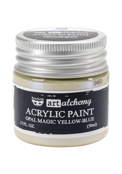 Opal Magic Yellow/Blue - Art Alchemy Acrylic Paint