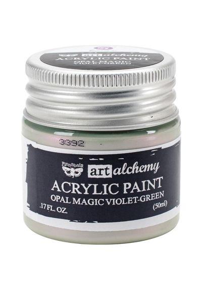Opal Magic Violet/Green - Art Alchemy Acrylic Paint