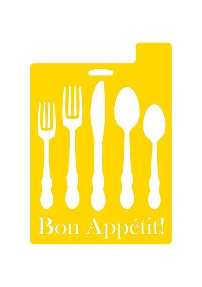 Bon Appetit - Stencils