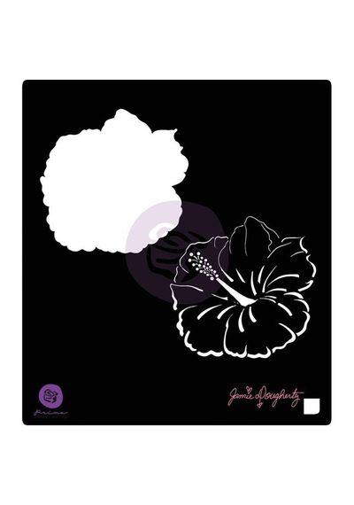 Hibiscus - Stencils