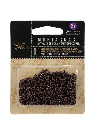 Montagnac Cord/Antique Copper - Frank Garcia Memory Hardware Chain 2yd