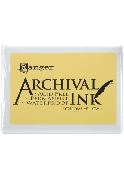 Chrome Yellow - Jumbo Ink Pad