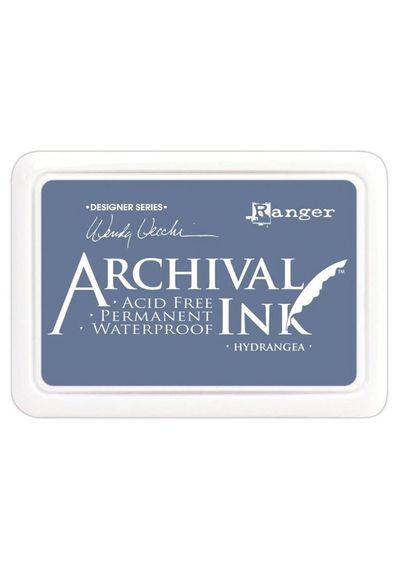 Hydrangea -  Archival Inks