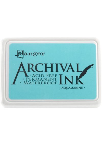 Aquamarine - Archival Inks