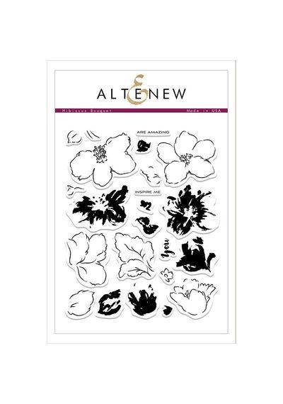 Hibiscus Bouquet - Stamp