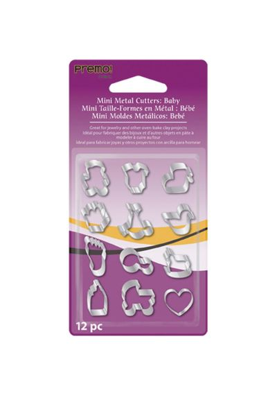 Baby - Premo Sculpey Mini Metal Cutters