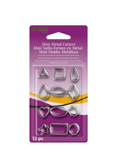 Geometric -  Mini Metal Cutters