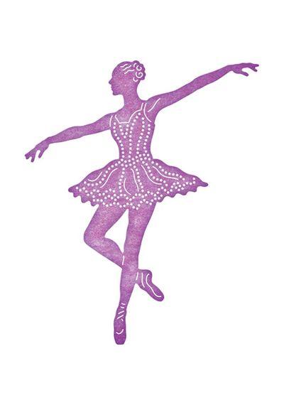 En Pointe Ballerina - Die