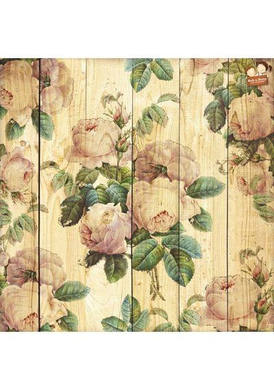 Floral Logs 12X12