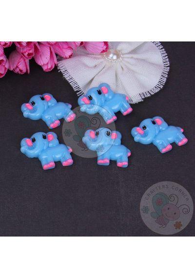 Baby Elephant - Blue