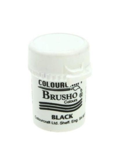 Brusho Crystal Colour 15g - BLACK