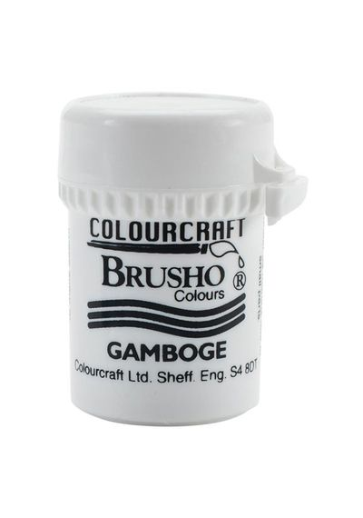 Brusho Crystal Colour 15g - Gamboge