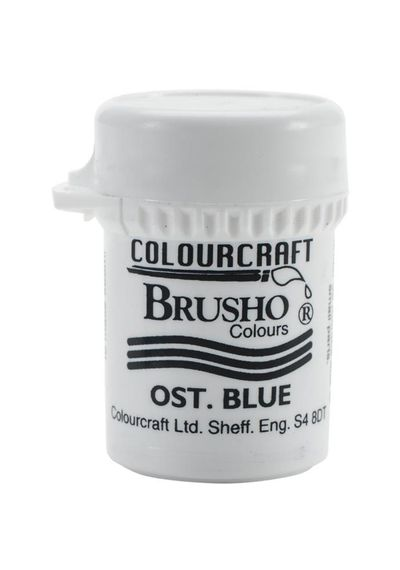 Brusho Crystal Colour 15g - Ost. Blue