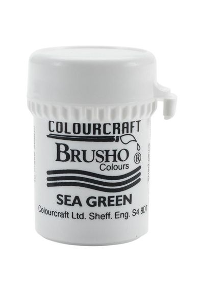 Brusho Crystal Colour 15g - Sea Green