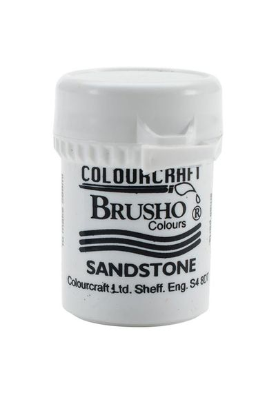 Brusho Crystal Colour 15g - Sandstone