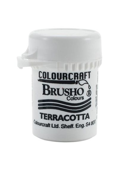 Brusho Crystal Colour 15g - Terracotta
