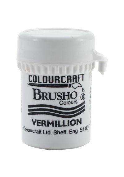 Brusho Crystal Colour 15g - Vermilion