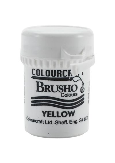 Brusho Crystal Colour 15g - Yellow