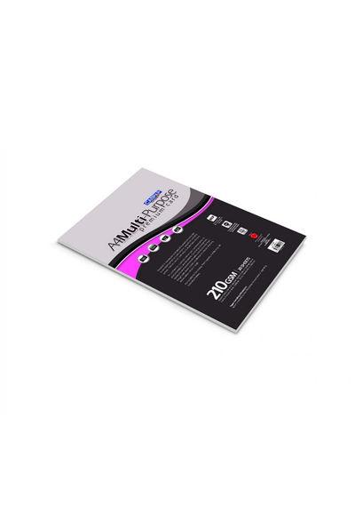 MULTI PURPOSE PREMIUM CARD PAPER WHITE-210 GSM PAPER