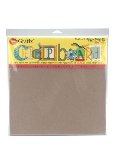 Natural Chipboard Sheets